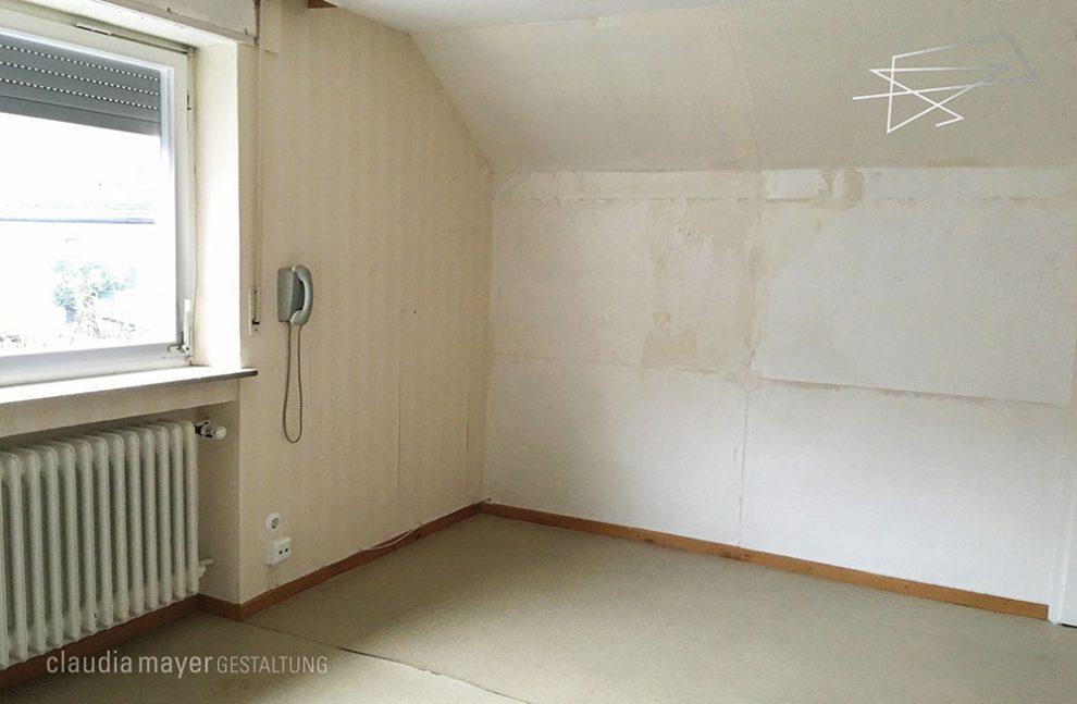 Kinderzimmer ohne Home Staging geknipst