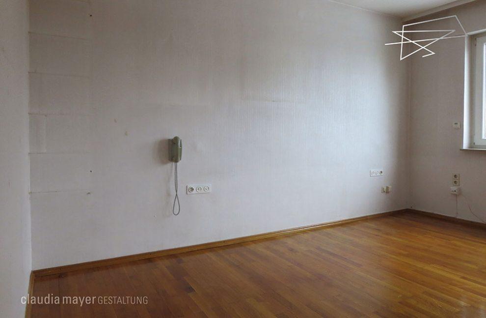 Schlafzimmer ohne Home Staging geknipst