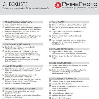 Immobilienfotos mit Stil - Checkliste