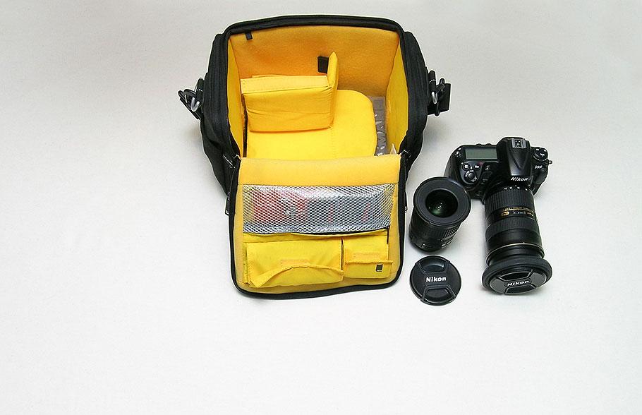 Kamera und Objektive ausgepackt