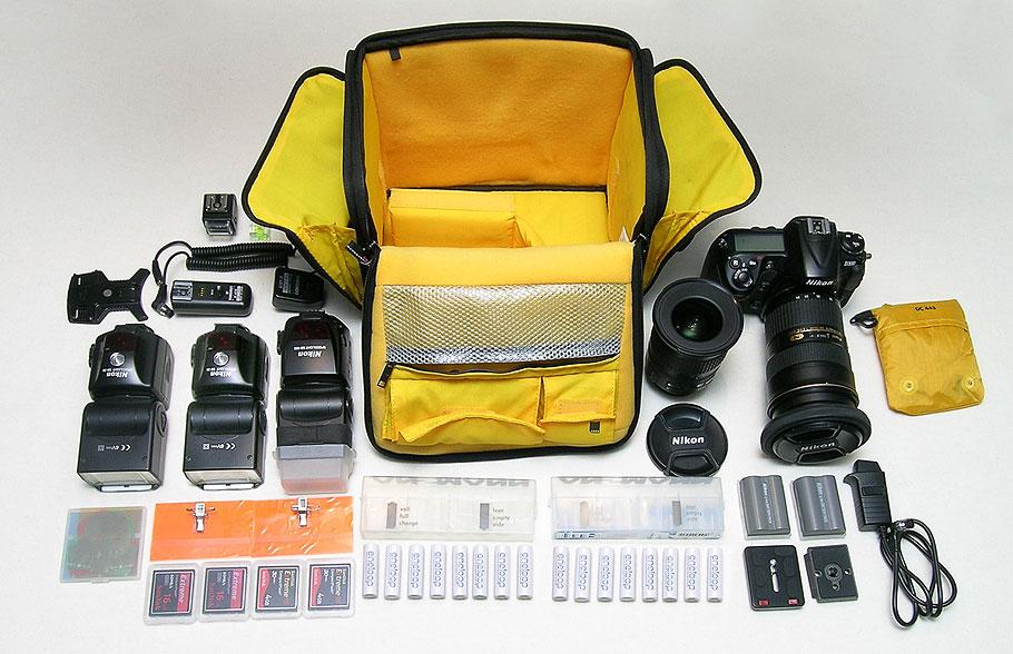 Seitentasche links ausgepackt