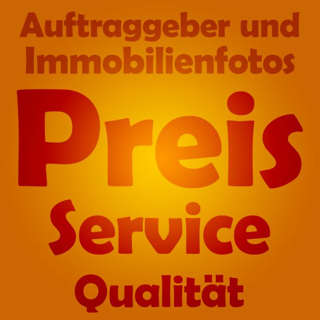 Auftraggeber und Immobilienfotos - Preis, Service, Qualität