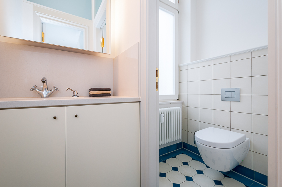 Moderne sanitäre Anlagen im historischen Ambiente