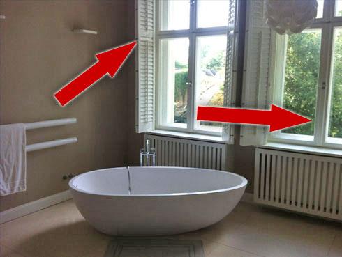Fehler bei Immobilienfotos: Senkrechte Ausrichtung