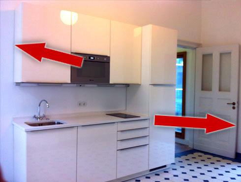 Fehler bei Immobilienfotos: Waagerechte Ausrichtung