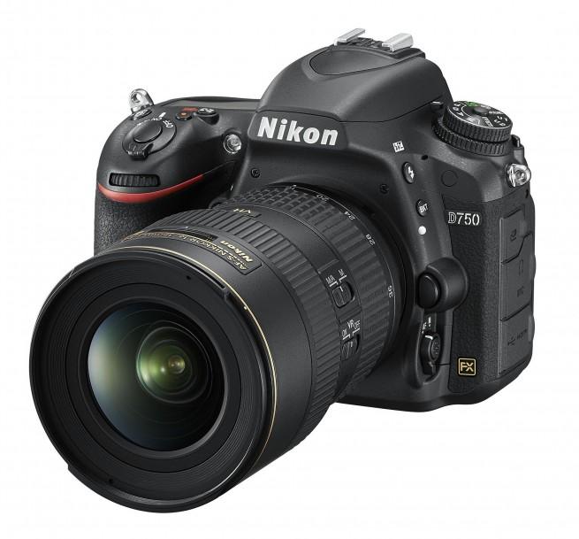 Nikon D750 mit Nikkor 16-35