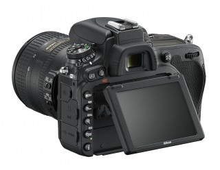 Nikon D750 Tilting LCD Screen