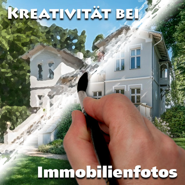 Wieviel Kreativität vertragen Immobilienfotos?