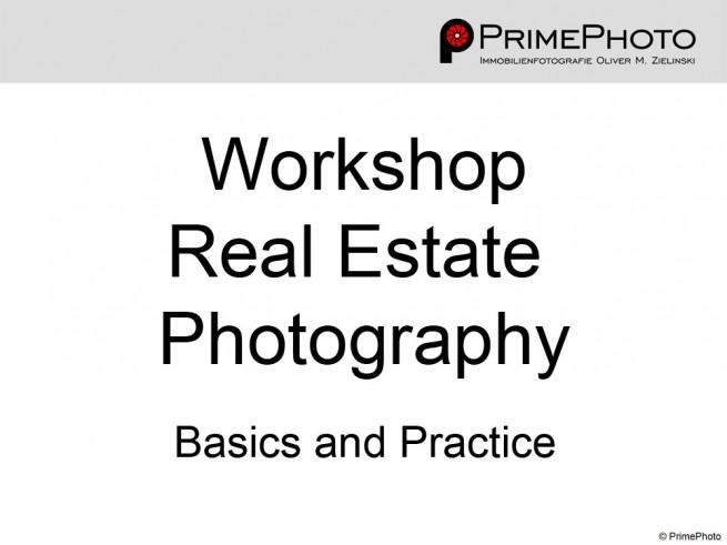 PrimePhoto Workshop Real Estate Photography