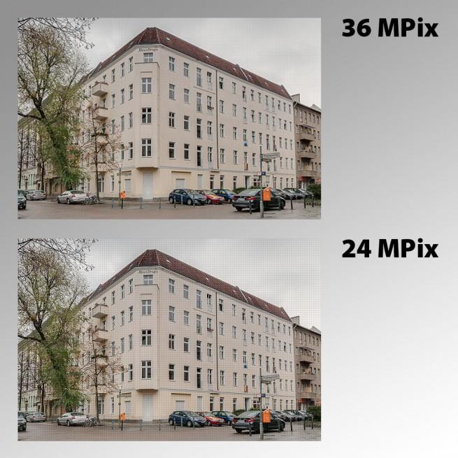 Wie viele Megapixel brauche ich für gute Fotos?