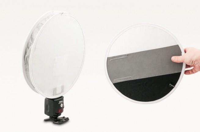 Fstoppers FlashDisc als Reflektor und Graukarte