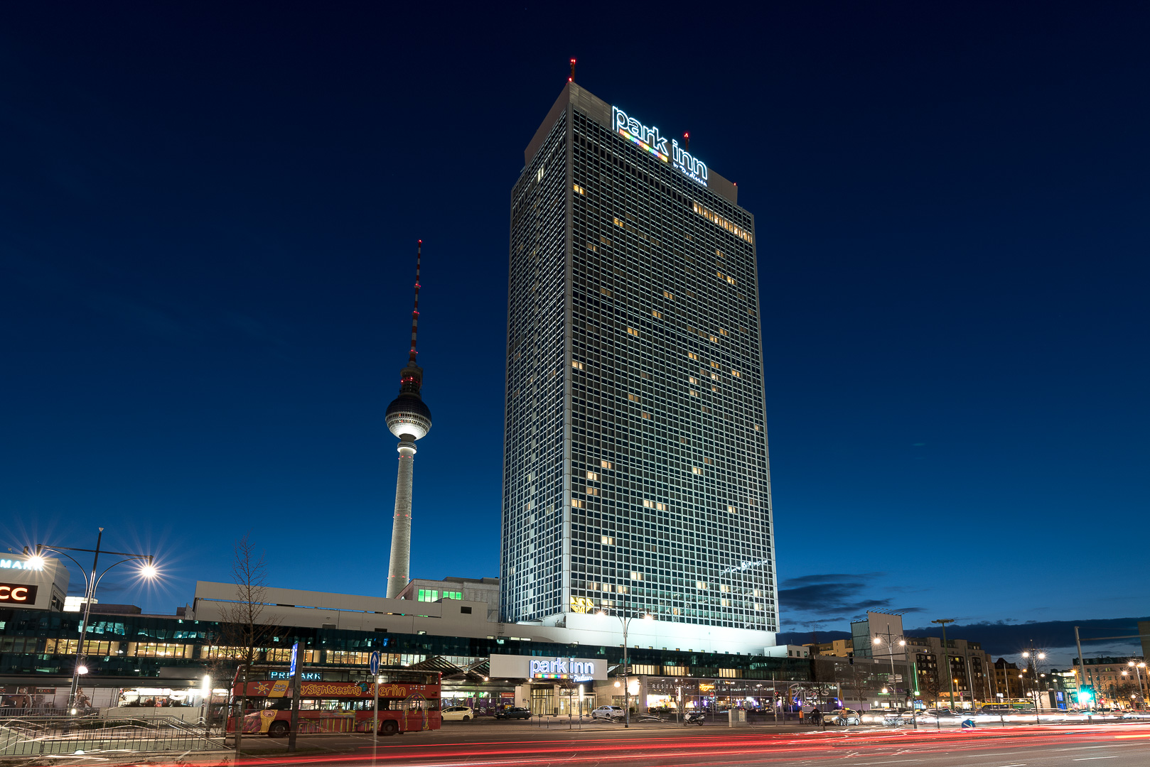 Hotel ParkInn Berlin Alexanderplatz, Fernsehturm