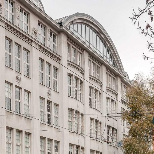 Verlagshaus im alten Berlin