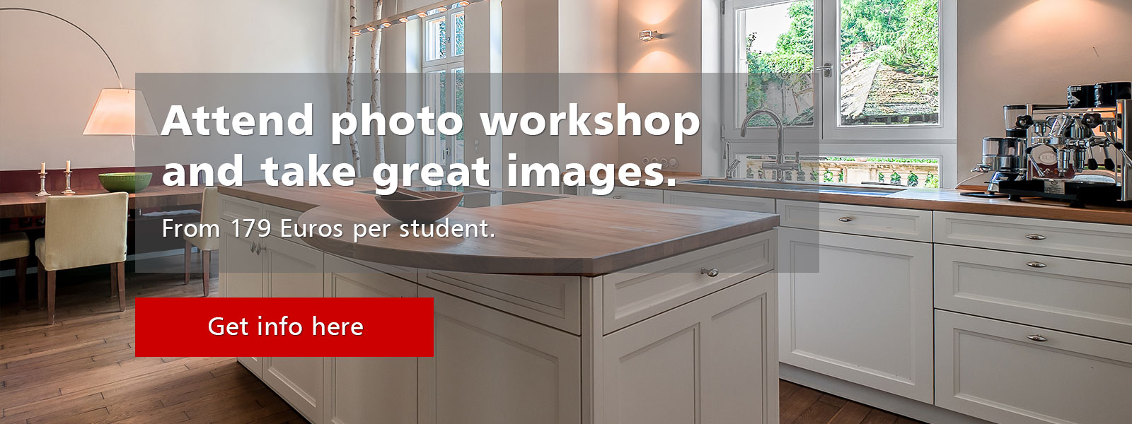 Better real estate photos after workshop with PrimePhoto.