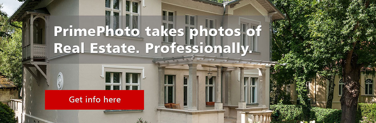 Professional real estate photos and first class image editing.