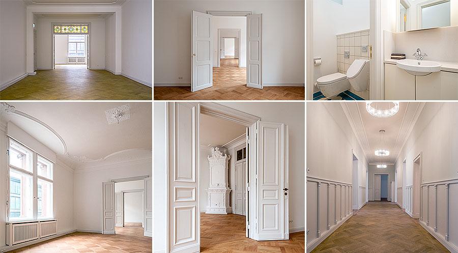 Die gleichen Motive, mit Spiegelreflexkamera und Stativ fotografiert.
