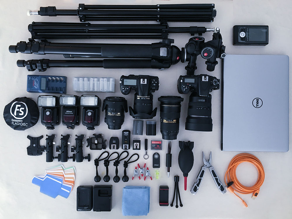 Equipment for vast assignments