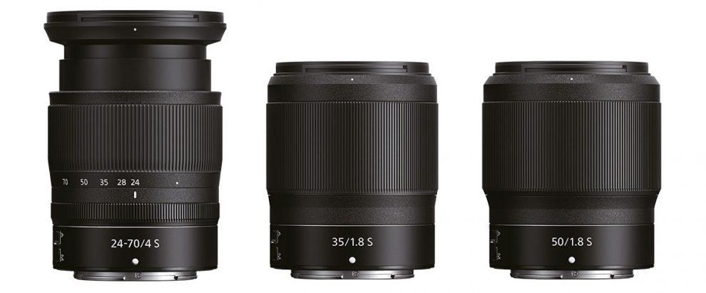 Neue Nikon-S-Objektive