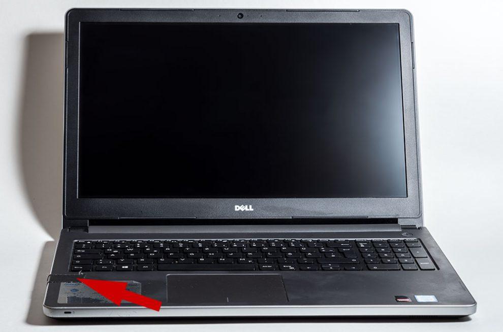 Dell-Notebook für Präsentation und Bildbearbeitung nach zwei Jahren immer noch ganz gut, aber langsamer geworden.