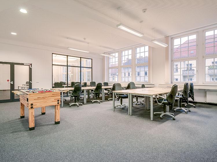 Büro fotografiert