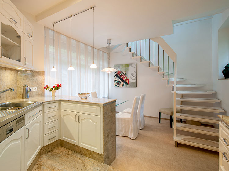 Küche fotografiert