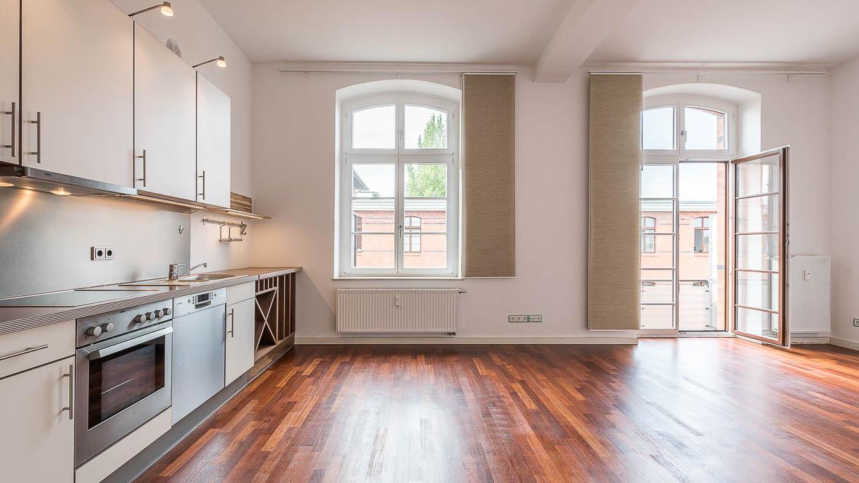 Immobilienbild einer Wohnküche - PrimePhoto