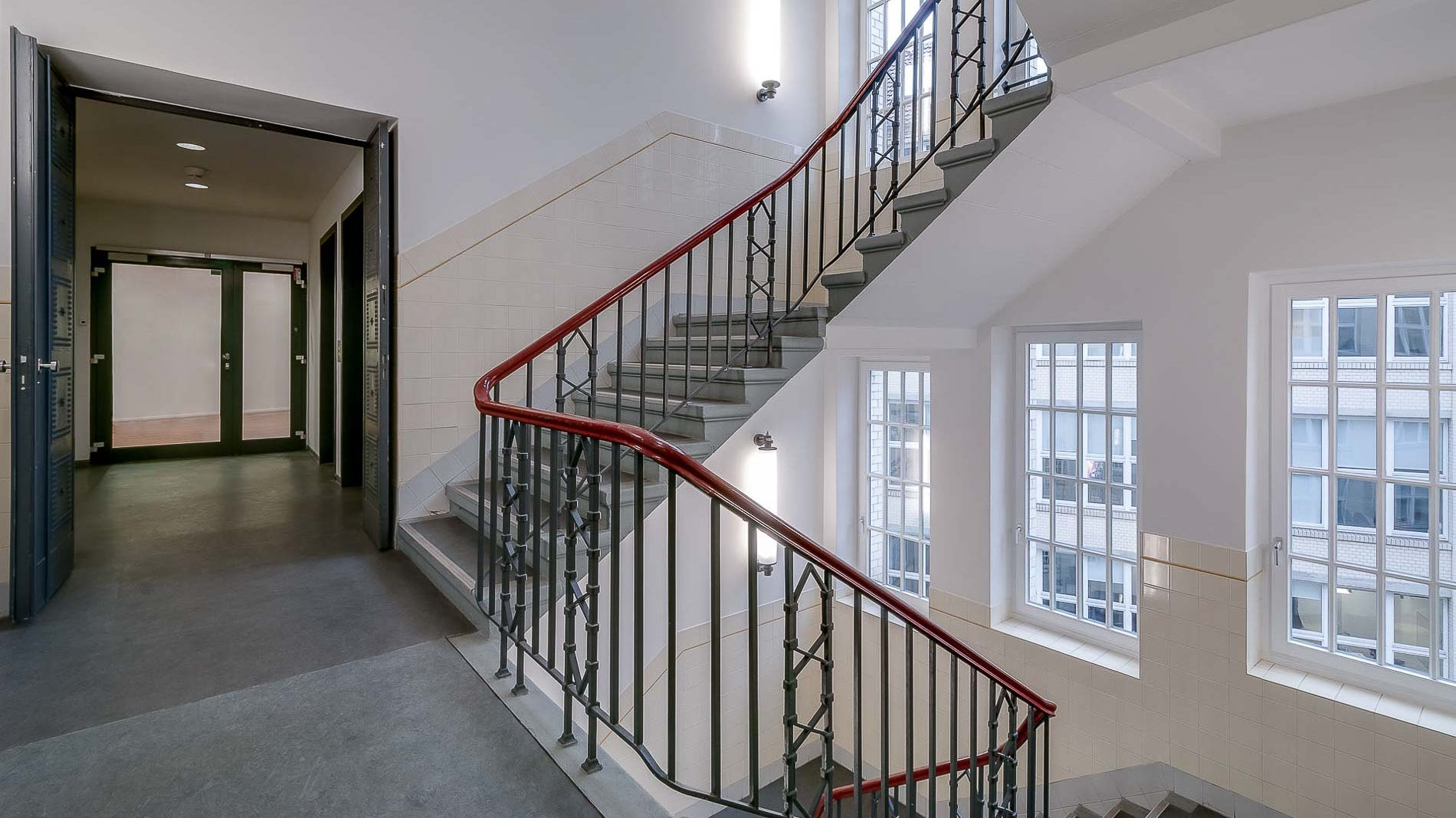Stair Case in a Publisher's Building - Architectural Photography