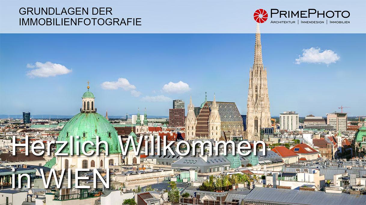 Willkommen in Wien Workshop Immobilienfotografie