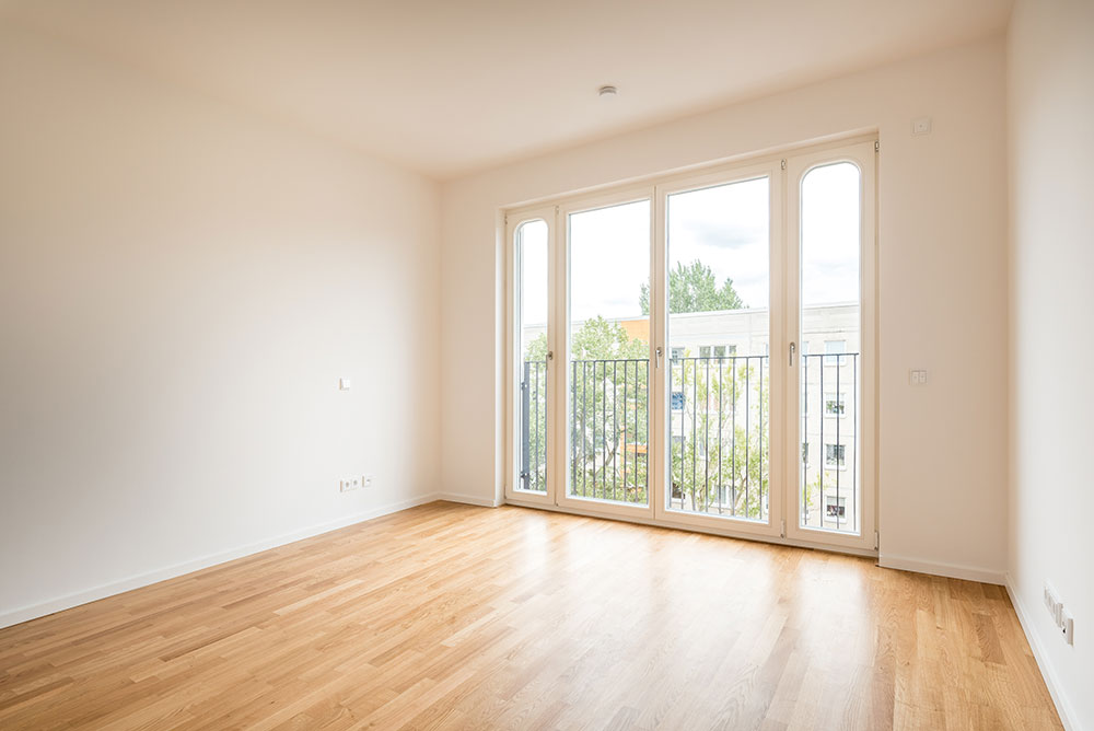 Professionelles Immobilienfoto ohne Homestaging