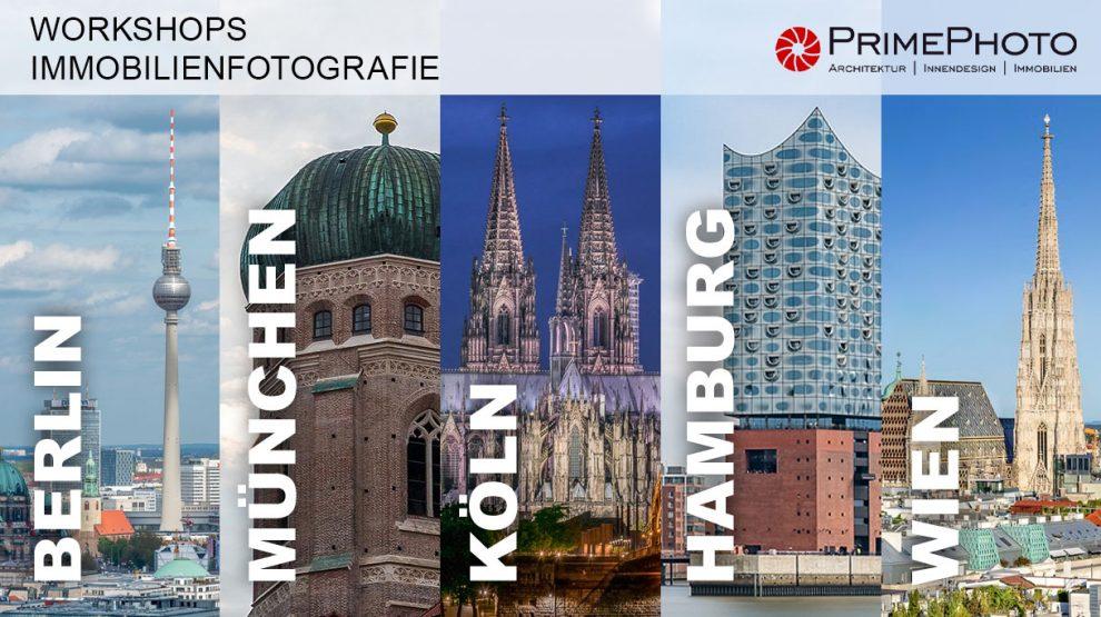 Vormerkung für Workshops Immobilienfotografie