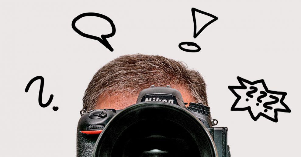 Der Kopf des Fotografen ist immer gefordert