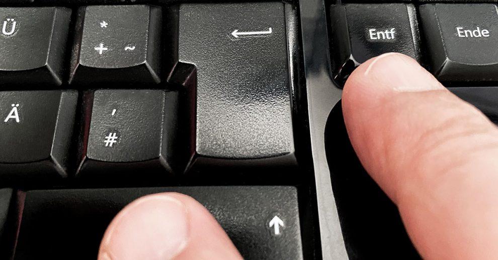 Häufigster Grund für Datenverlust: versehentliches Löschen
