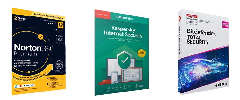Erster Schritt für's Backup: Security-Suiten können das System gegen Manipulation von außen abschirmen.