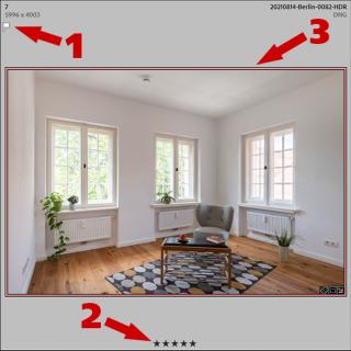 Die richtigen Immobilienfotos auswählen